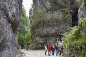 La grotte de Saint Christophe en Chartreuse Savoie