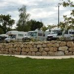 séparation caravanes camping marlice